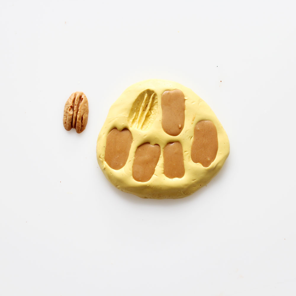 chocolate peanut butter pecan silicone mold salad cake